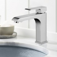 Basin&Sink Faucet - Chrome Finished Brass (81H44-CHR-B)