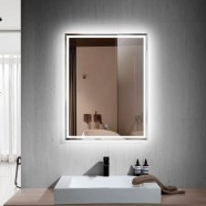 28 x 36 In Vertical LED Bathroom Mirror with Touch Button (DK-OD-C226)