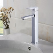 Basin&Sink Faucet - Chrome Finished Brass (81H24-CHR-B)