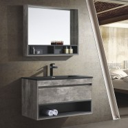 39 In. Wall Mount Bathroom Vanity Set with Mirror Cabinet (HP1001-SET)