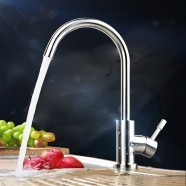 SUPOR Stainless Steel Lead Free Kitchen Faucet (210107-04-LS)