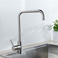 SUPOR Stainless Steel Lead Free Kitchen Faucet (210107-12-LS)