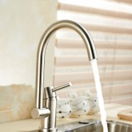 SUPOR Stainless Steel Lead Free Kitchen Faucet (250607-01-LS)