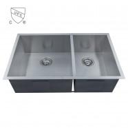 Stainless Steel Handmade Kitchen Sink (DK-SC-D3320-R0)