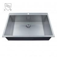 Stainless Steel Handmade Kitchen Sink (DK-SC-AS3322-R0)