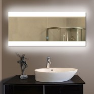 80 x 36 In Horizontal LED Bathroom Mirror with Touch Button (DK-OD-T03-2)