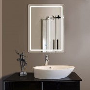 24 x 32 In Vertical Bathroom LED Lighted Mirror with Touch Button (DK-OD-CL140)