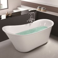 71 ln Freestanding Bathtub - Acrylic White (DK-MEC3003)