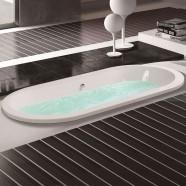 60 In Built-in Bathtub - Acrylic White (DK-MEC3120A)