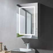 24 x 32 In LED Mirror Cabinet with Infrared Sensor (NS169-2432-G)