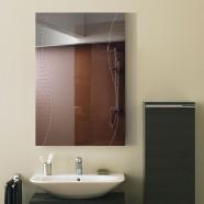 24 x 36 In. Wall-mounted Rectangle Bathroom Mirror (DK-OD-B068A)