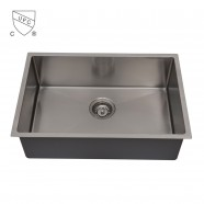 Stainless Steel Single Bowl Kitchen Sink (DK-SC-AR3018-R10)