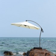 9.8-ft  Deluxe Polyester  Offset Patio Umbrella (911AL-1)
