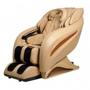 Zero Gravity Heated Reclining L-Track Massage Chair in Beige (DLA09-C)
