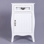 1 Drawer and 1 Cabinet Door Nightstand (JI3212)