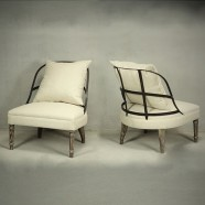 Slipper Armless Chairs (PJC911)