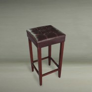 Upholstered Wooden Bar Stool (PJO022)