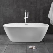 67 In White Acrylic Freestanding Bathtub (DK-28778)