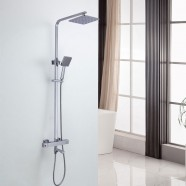 Rain Shower Head - Brass with Chrome Finish (DK-YDL9116)