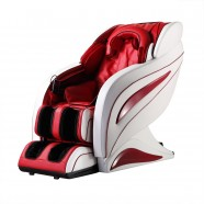 Zero Gravity Heated Reclining L-Track Massage Chair in Red (DLA09-B)