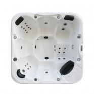 6-Person 28-Jet Spa with LED Lighting and Ozone (DK-Tirol)