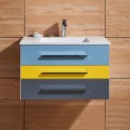 31 In. Wall Mount Bathroom Vanity (DK-668800-V)