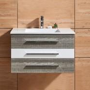 31 In. Wall Mount Bathroom Vanity (DK-669800-V)
