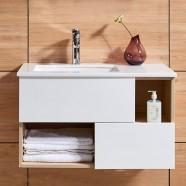 39 In. Wall Mount Bathroom Vanity (DK-675100-V)