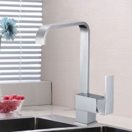 Kitchen Faucet - Brass with Chrome Finish (82H08G-CHR)