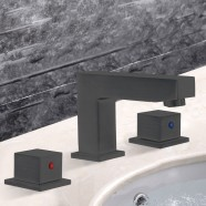 Basin&Sink Faucet - Brass with Matte Black Finish (83H25-MB)
