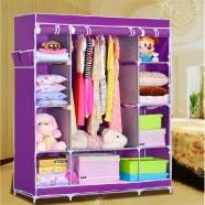 Non-woven Fabric Portable Closet with Shelves (DK-WF1610-1)