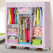 Oxford Fabric Portable Closet with Shelves (DK-WF8506D-2)