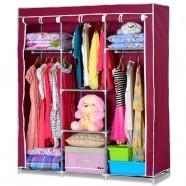 Non-woven Fabric Portable Closet with Shelves (DK-WF1613-1)