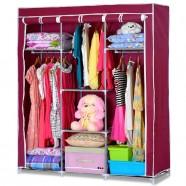 Non-woven Fabric Portable Closet with Shelves (DK-WF1613-2)