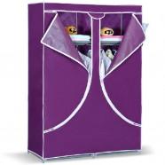 Non-woven Fabric Double-Door Portable Closet with Shelves (DK-WF8502-1)