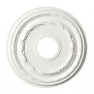15.5 ln White Polyurethane Ceiling Medallion (DK-BA1039A)