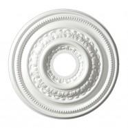 18 ln White Polyurethane Ceiling Medallion (DK-BA1046A)