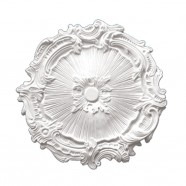16.7 ln White Polyurethane Ceiling Medallion (DK-BA2042C)
