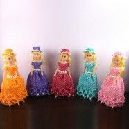 Handmade craft by bead/Fancy Barbie Doll Shape (DK-CZ12)