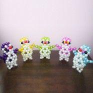 Beaded Ornament Kit/Fancy Penguin Beads Modeling (DK-CZ38)