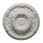 23 ln White Polyurethane Ceiling Medallion (DK-DKM5002)