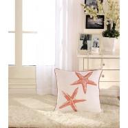 Starfish Printed Cotton Cushion Cover (DK-LG002-2)