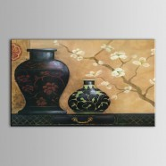 Still-Life Printed Oil Painting on Chemical Fiber Canvas (DK-PH-DH35)