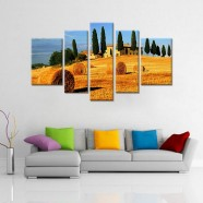 Landscape Group Canvas Printed Painting (DK-PH-TH39184)