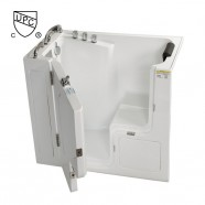 52 x 30 In Walk-in Soaking Bathtub - Acrylic White with Left Drain (DK-Q358-L)
