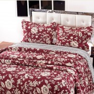 Comfortable Pure Cotton 3-Piece Quilt Set (DK-WX009)