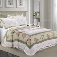 Comfortable Pure Cotton 3-Piece Quilt Set (DK-WX012)