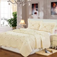 Comfortable Pure Cotton 3-Piece Quilt Set (DK-WX013)