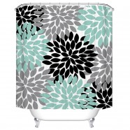 "Fashionable Bathroom Waterproof Shower Curtain, 70"" W x 72"" H (DK-YT010)"