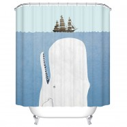 "Fashionable Bathroom Waterproof Shower Curtain, 70"" W x 72"" H (DK-YT001)"